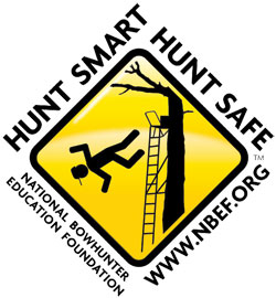 NBEF logo: Hunt smart. Hunt safe.