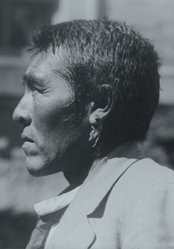 Ishi, last known survivor of the Yana tribe in California