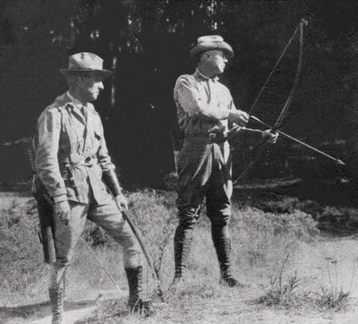 Dr. Saxton Pope and Arthur Young, the Fathers of Bowhunting